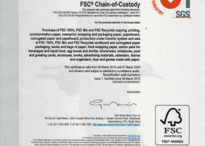 Elgraf Certificate